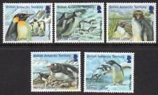BRITISH ANTARCTIC TERRITORY  MNH 2014 SG639-43 Penguins Airmail Letter Rate