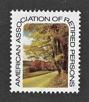 American Association of Retired People or AARP Cinderella Stamp