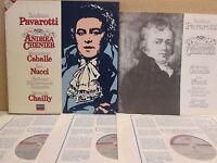 DECCA 410 117-1 STEREO- Pavarotti Andrea Chenier 3-LP (Pavarotti/Nucci/Chailly)