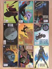 BATGIRL YEAR ONE ISSUES 1 2 3 4 5 6 7 8 9 - 1ST PRINT FULL SET - DC COMICS 2003