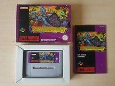 SNES SUPER NINTENDO BOXED CIB - SUPER GHOULS 'N GHOSTS ( SNSP-CM-FAH ) PAL