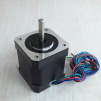 Metal 1.7A Two-phase 4-wire 17Step 42mm High Torque Hybrid Stepper Motor For CNC