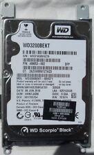 "WD Western Digital WD3200BEKT 320GB Sata 2.5"" portable Hard Disk Drive Laptop HP"