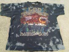Vtg Winterland Led Zeppelin Hammer Of The Gods Shirt Xl 1999 90S Mosquitohead