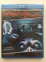 Supernatural activity BLU RAY NEUF SOUS BLISTER