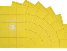 LASTRA FRANGIBILE ANTI U.V. GIALLA X  CASSETTA INOX/INOX UNI 45, 290X500