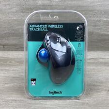 Logitech Advanced Wireless Trackball Wireless Mouse New Sealed Windows Mac M570