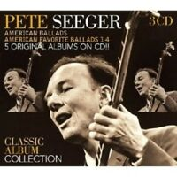 "PETE SEEGER ""CLASSIC ALBUM COLLECTION"" 3 CD NEU"