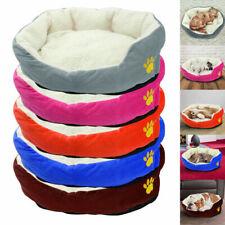 Winter Warm Dog Nesting Bed Pet Fleece Mattress Cushion Puppy Sofa House Kennel