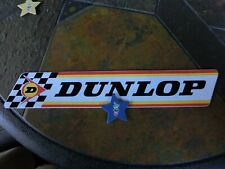 2 Dunlop Rennsport-Aufkleber/Sticker,Sammlerstücke,rar,Erstbesitzer,