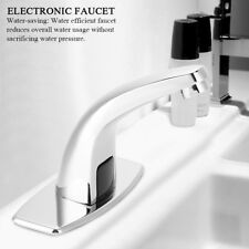 Hot &Cold Bathroom Automatic Water Saving Induction Touch Sensor Electric Faucet