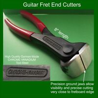 Guitar Fret Wire Cutters  STAINLESS COMPATIBLE. Tool Steel. Luthier Tool  TF002s
