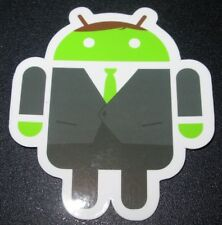 "ANDROID DROID Businessman robot logo Sticker 2.5"" Google andrew bell"