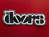 The Doors Embroidered Iron Sew On Patch BADGE