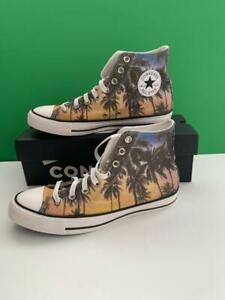 CONVERSE Chuck Taylor Palm Tree High Top Men's 8 OR Womens 10 Unisex Shoes NEW
