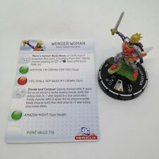 Heroclix Superman set Wonder Woman (Flashpoint) #045 Super Rare figure w/card!
