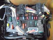 PEUGEOT 207 307 C3 FUSEBOX BSM BOARD 9661708180 FUSE BOX AND WIRING PLUGS
