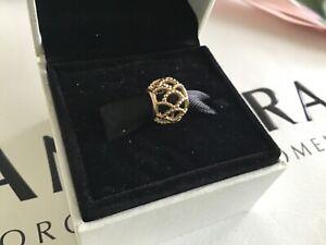 Pandora Solid 14ct Gold Wanderlust Charm, BRAND NEW