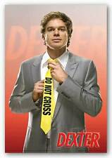 TELEVISION ART POSTER Dexter Do Not Cross Yellow Tie