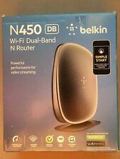 BELKIN N450 DUAL BAND WiFi N ROUTER 450MBPS 802.11 A/B/G/N F9K1105 722868829905