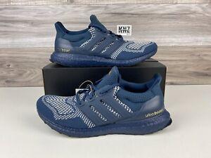 Men's Adidas Ultraboost 1.0 DNA Crew Navy White | size 10.5 | GV7723 FREE SHIP