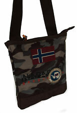 Borsa con tracolla NAPAPIJRI north cape small crossover 4BNN3R16 colore Y50 CAMO