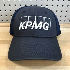 Callaway KPMG Phil Mickelson Official PGA Tour Blue Stretch Fitted Hat Cap S/M