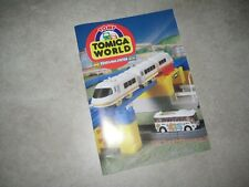Vintage TOMY TOMICA WORLD Train & Rail System PRODUCT Catalog 1990s USED