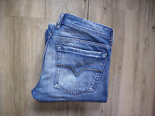 RARE Diesel ZATHAN (00772) flare/bootcut jeans w31 l34 Distressed Lavage!