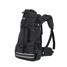 Black Dog Carrier Backpack for Large Dogs Pet Puppy Shoulder Travel Bike Bag