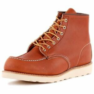 Red Wing 6-Inch Boot 00875-3 Mens Laced Leather Boots Tan