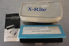 XRITE 333 PORTABLE DUAL COLOR SENSITOMETER BATTERY OPERATED