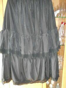 Damen lagenlook Unterrock Gr. XL
