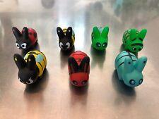 Labbit Insect Kingdom Mini Series KidRobot Kozik 7 piece lot