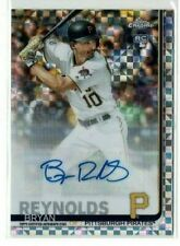 2019 Topps Chrome Update Bryan Reynolds (Pirates) Xfractor Auto Card /125 RC