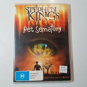 Stephen King's Pet Sematary   DVD Movie  1989   Horror/Thriller   Mary Lambert