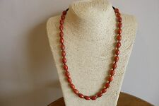 Red Sea Sponge Coral And Shell Heishi Bead Native American Style Necklace