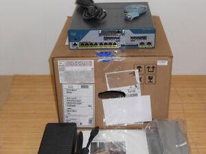NEU Cisco Voice C1861E-UC-4FXO-K9 Integrated Services Router NEW OPEN BOX