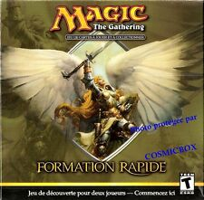 MAGIC the Gathering FORMATION RAPIDE par cartes et CD rom deck collectible cards