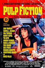 Pulp Fiction A1 High Quality Canvas Art Print