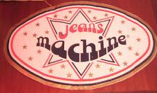 """Adesivo Anni ' 80 """" MACHINE JEANS """""""