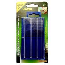 HAWK TJ6180 - 20 Pc Mini HSS Drill Bits Crafts Hobby Electronics Jewelry Work