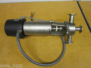 """Alfa Laval Type SRC 25MM Valve 7/8"""" ID 2""""OD 3 Outlet With Basic Top 23SV2"""