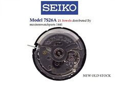 New ! Seiko Automatic 7S26 A 21 Jewels Watch Movement/Parts Repair .Free Ship