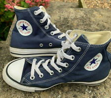 Hi Top Mens CONVERSE ALL STAR Navy Blue UK Size 6 ALL STARS Boot Pump Trainers