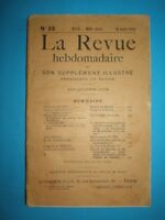 RARE old French magazine The Review/Lа Revue/, issue 35 of 1915 year