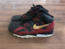 Nike Air Trainer SC San Francisco 49ers Mens Size 9.5 Black Sneakers Shoes Red