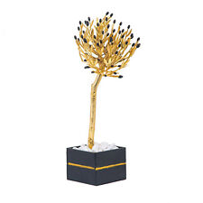 Olive Tree - Handmade Bronze, Golden Patina & Black Olives, Large 45cm (17.7'')
