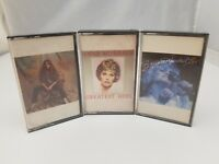 Country Music Cassette Tapes Set of 3 Juice Newton, Barbara Mandrell Anne Murray