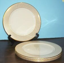 """4 LENOX PRESIDENTIAL COLLECTION WEST POINT SERVICE CHARGERS 11 5/8"""""""